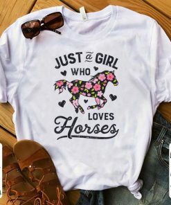 Pretty Just A Girl Who Loves Horses Horseback Riding Horse Lover shirt 1 1 247x296 - Pretty Just A Girl Who Loves Horses Horseback Riding Horse Lover shirt