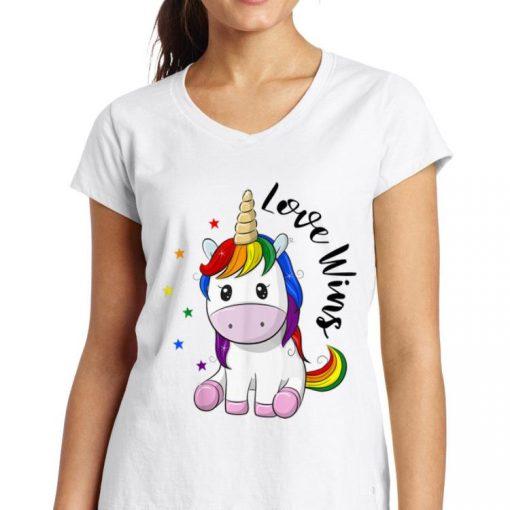 Pretty Love Wins LGBT Gay Lesbian Pride Month Rainbow Unicorn shirt 3 1 510x510 - Pretty Love Wins LGBT Gay Lesbian Pride Month Rainbow Unicorn shirt