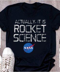 Pretty NASA Actually It Is Rocket Science 50th Anniversary Moon Landing shirt 1 1 247x296 - Pretty NASA Actually It Is Rocket Science 50th Anniversary Moon Landing shirt