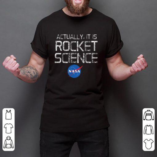 Pretty NASA Actually It Is Rocket Science 50th Anniversary Moon Landing shirt 2 1 510x510 - Pretty NASA Actually It Is Rocket Science 50th Anniversary Moon Landing shirt
