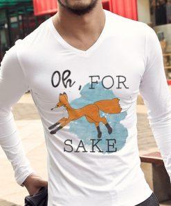 Pretty Oh For Fox Sake Orange Fox shirt 2 1 247x296 - Pretty Oh, For Fox Sake Orange Fox shirt
