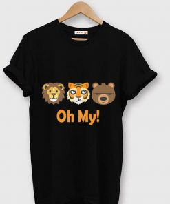 Pretty Oh My Cute Zoo Animal Lion Tiger and Bear shirt 1 1 247x296 - Pretty Oh My Cute Zoo Animal Lion Tiger and Bear shirt