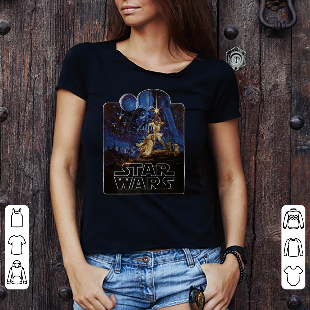 Star Wars Classic A New Hope Heroes Badge Maglietta