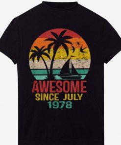 Top Awesome Since July 1978 41St Birthday Summer Beach shirt 1 1 247x296 - Top Awesome Since July 1978 41St Birthday Summer Beach shirt