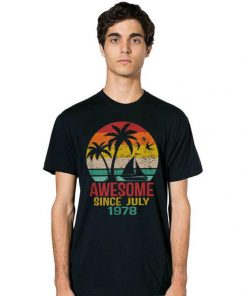 Top Awesome Since July 1978 41St Birthday Summer Beach shirt 2 1 247x296 - Top Awesome Since July 1978 41St Birthday Summer Beach shirt