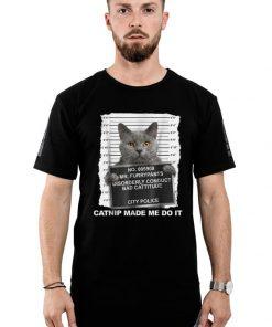 Top Catnip Made Me Do It Cat Cat shirt 2 1 247x296 - Top Catnip Made Me Do It Cat Cat shirt