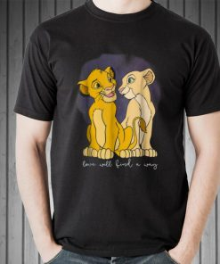 Top Disney Lion King Simba Nala Love Love Will Find A Way shirt 2 1 247x296 - Top Disney Lion King Simba Nala Love Love Will Find A Way shirt