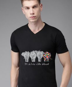 Top Elephant Autism It s Ok To Be A Little Different LGBT Pride shirt 2 1 247x296 - Top Elephant Autism It's Ok To Be A Little Different LGBT Pride shirt