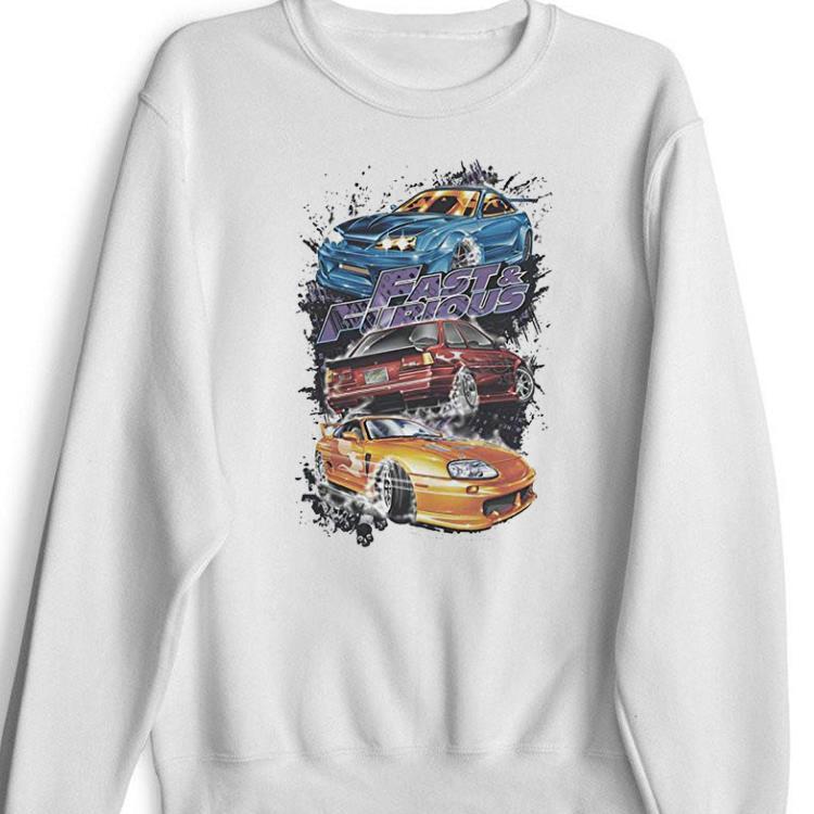 Top Fast And The Furious Smokin Street Cars shirt