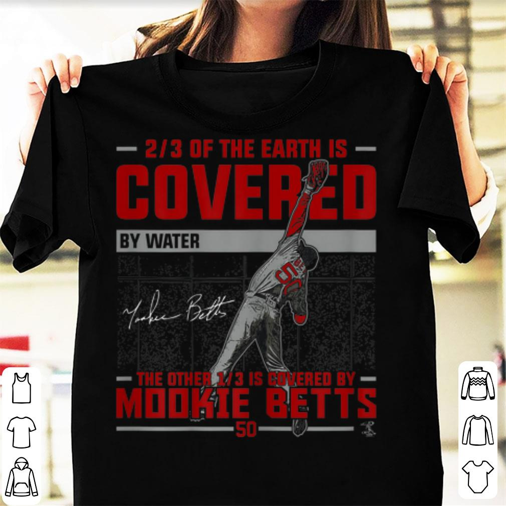 half off 8a030 ae75f Top Mookie Betts Covered By Water shirt