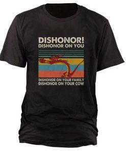 Top Mushu dishonor dishonor on you dishonor on your family vintage shirt 1 1 247x296 - Top Mushu dishonor dishonor on you dishonor on your family vintage shirt