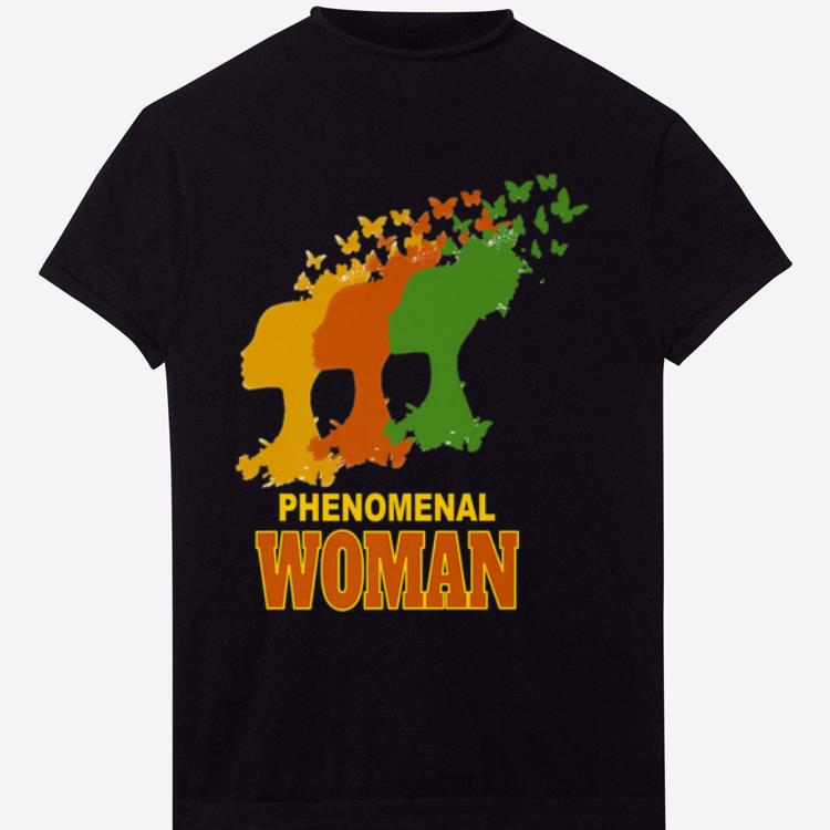 Top Phenomenal Woman African American shirt
