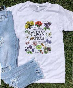 Top Vintage Botanical Save The Bees Flower shirt 1 1 247x296 - Top Vintage Botanical Save The Bees Flower shirt
