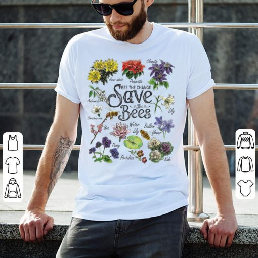 Top Vintage Botanical Save The Bees Flower shirt 2 1 510x510 - Top Vintage Botanical Save The Bees Flower shirt
