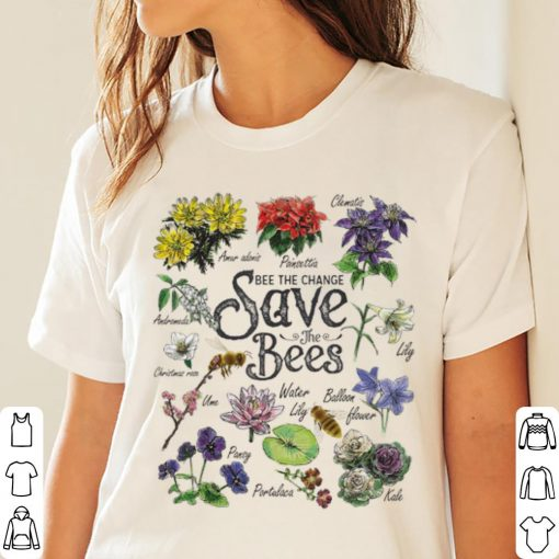 Top Vintage Botanical Save The Bees Flower shirt 3 1 510x510 - Top Vintage Botanical Save The Bees Flower shirt