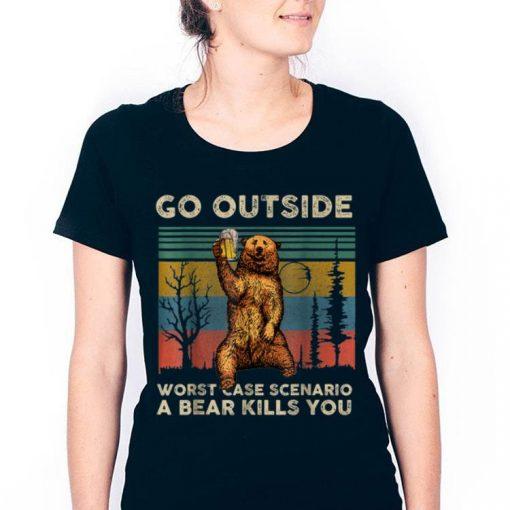 Top Vintage Go Outside Worst Case Scenario A Bear Kills You shirt 3 1 510x510 - Top Vintage Go Outside Worst Case Scenario A Bear Kills You shirt