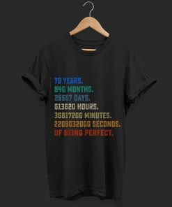 Top Vintage Retro 70th Birthday 70 Years Being Perfect shirt 1 1 247x296 - Top Vintage Retro 70th Birthday 70 Years Being Perfect shirt