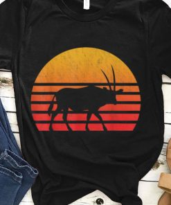 Top Vintage Retro Sunset Oryx Long Horn Hunting shirt 1 1 247x296 - Top Vintage Retro Sunset Oryx Long Horn Hunting shirt