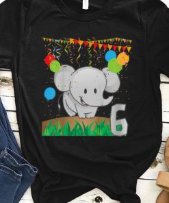 Top Youth Sixth Birthday Elephant 6 Six Years Old shirt 1 1 247x296 - Top Youth Sixth Birthday Elephant 6 Six Years Old shirt