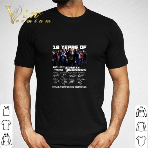 18 year of Fast Furious 2001 2019 9 movies signatures shirt 2 1 510x510 - 18 year of Fast & Furious 2001-2019 9 movies signatures shirt
