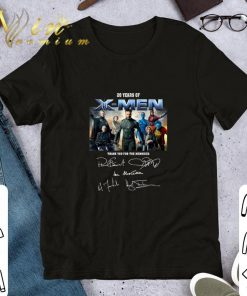 20 years of X Men thank you for the memories signatures shirt 1 1 247x296 - 20 years of X-Men thank you for the memories signatures shirt