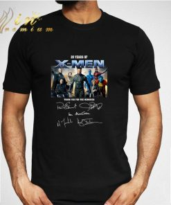 20 years of X Men thank you for the memories signatures shirt 2 1 247x296 - 20 years of X-Men thank you for the memories signatures shirt