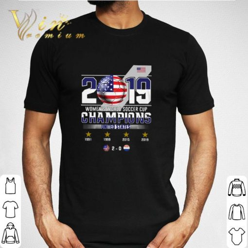 2019 Women s World Soccer Cup Champions United States shirt 2 1 510x510 - 2019 Women's World Soccer Cup Champions United States shirt