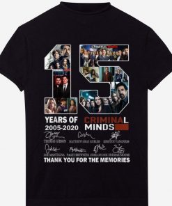 Awesome 15 Years Of Criminal Minds Thank You For The Memories Signature shirt 1 1 247x296 - Awesome 15 Years Of Criminal Minds Thank You For The Memories Signature shirt