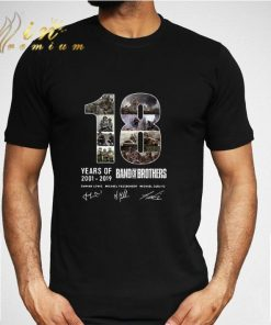 Awesome 18 Years Of Band Of Brothers Signatures shirt 2 1 247x296 - Awesome 18 Years Of Band Of Brothers Signatures shirt