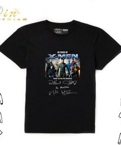 Awesome 20 years of X Men thank you for the memories signatures shirt 1 1 247x296 - Awesome 20 years of X-Men thank you for the memories signatures shirt