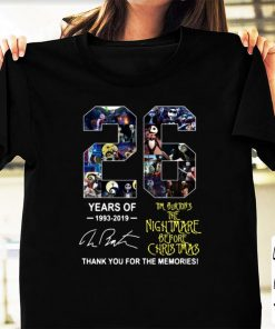 Awesome 26 Years of Tim Burton s The Nightmare Before Christmas signature shirt 1 1 247x296 - Awesome 26 Years of Tim Burton's The Nightmare Before Christmas signature shirt