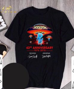 Awesome Boston 43rd anniversary 1976 2019 Tom Scholz John Boylan shirt 1 1 247x296 - Awesome Boston 43rd anniversary 1976-2019 Tom Scholz John Boylan shirt