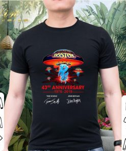 Awesome Boston 43rd anniversary 1976 2019 Tom Scholz John Boylan shirt 2 1 247x296 - Awesome Boston 43rd anniversary 1976-2019 Tom Scholz John Boylan shirt