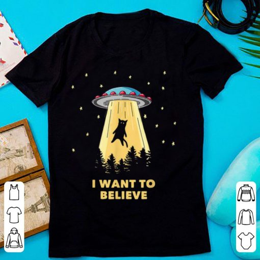 Awesome Cat Alien Abduction I Want To Believe UFO Area 51 shirt 2 1 510x510 - Awesome Cat Alien Abduction I Want To Believe UFO Area 51 shirt