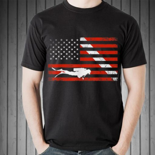 Awesome Diver Down American Flag shirt 2 1 510x510 - Awesome Diver Down American Flag shirt