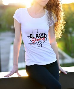 Awesome El paso strong texas shoothing august map shirt - Kutee Boutique