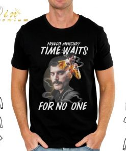 Awesome Freddie Mercury time waits for no one hoodie shirt 2 1 247x296 - Awesome Freddie Mercury time waits for no one hoodie shirt