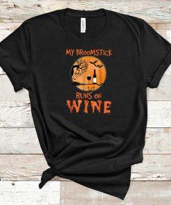 Awesome My Broomstick Runs On Wine Halloween shirt 1 1 247x296 - Awesome My Broomstick Runs On Wine Halloween shirt