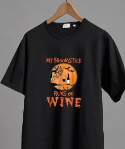 Awesome My Broomstick Runs On Wine Halloween shirt 2 1 247x296 - Awesome My Broomstick Runs On Wine Halloween shirt