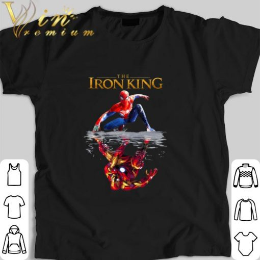 Awesome The Iron King Spider Man reflection Iron Man The Lion King 2019 shirt 1 1 510x510 - Awesome The Iron King Spider Man reflection Iron Man The Lion King 2019 shirt