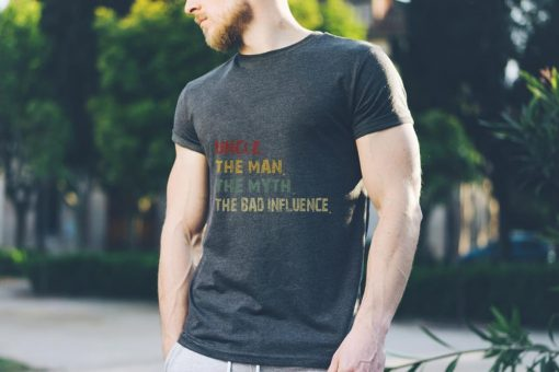 Awesome Uncle the Man the Myth the Bad Influence Retro Vintage shirt 3 1 510x340 - Awesome Uncle the Man the Myth the Bad Influence Retro Vintage shirt