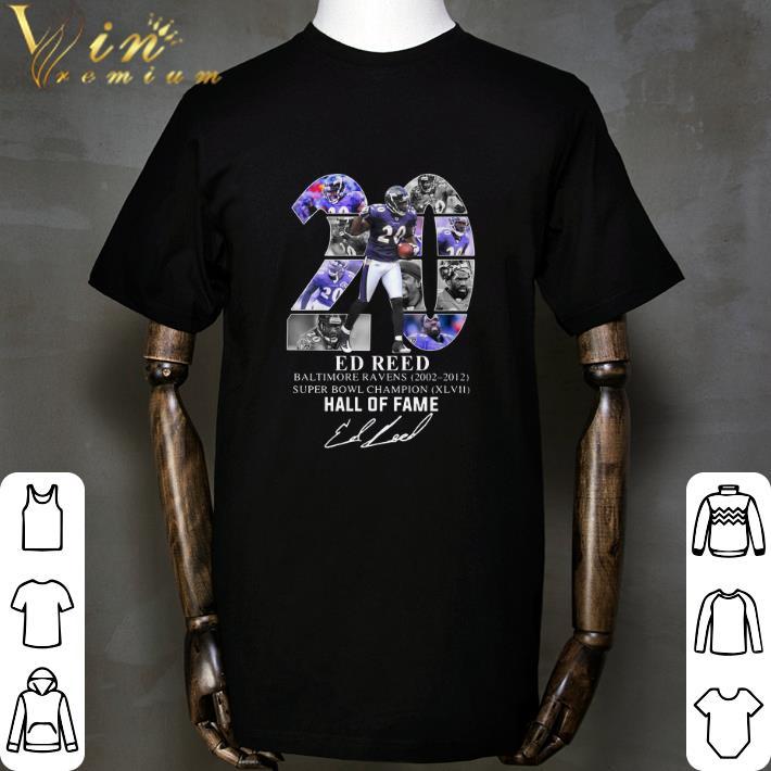 best service 8d8eb f038c Funny 20 Ed Reed Baltimore Ravens 2002-2012 Super Bowl Champion shirt