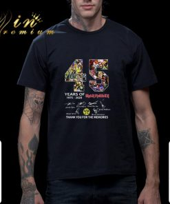 Funny 45 years of Iron Maiden signatures thank you the memories shirt 2 1 247x296 - Funny 45 years of Iron Maiden signatures thank you the memories shirt