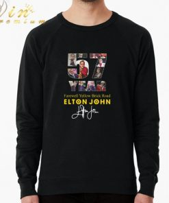 Funny 57 Years Farewell Yellow Brick Road Elton John signature shirt 2 1 247x296 - Funny 57 Years Farewell Yellow Brick Road Elton John signature shirt