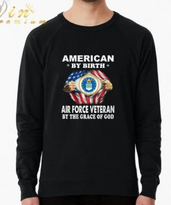 Funny American by birth Air Force Veteran by the grace of god shirt 2 1 247x296 - Funny American by birth Air Force Veteran by the grace of god shirt