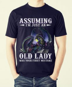 Funny Assuming i m just an old lady was your first mistake Dragon shirt 2 1 247x296 - Funny Assuming i'm just an old lady was your first mistake Dragon shirt