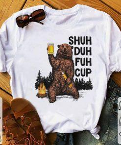 Funny Beer Camping Shuh Duh Fuh Cup Bear Drinking shirt 1 1 247x296 - Funny Beer Camping Shuh Duh Fuh Cup Bear Drinking shirt