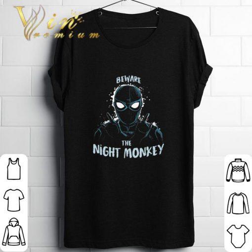 Funny Beware The Night Monkey Spider Man Far From Home shirt 1 1 510x510 - Funny Beware The Night Monkey Spider Man Far From Home shirt