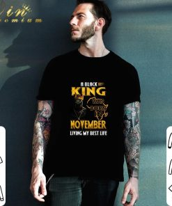 Funny Black Panther A Black King was born in november living my best life shirt 2 1 247x296 - Funny Black Panther A Black King was born in november living my best life shirt