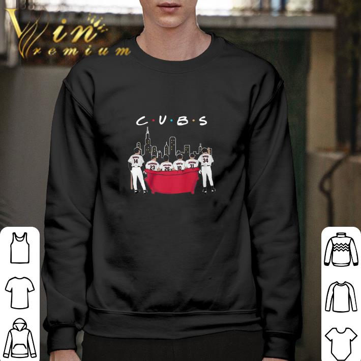Funny Chicago Cubs Friends shirt